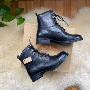 NWT Ten Points Leather Moto Boots